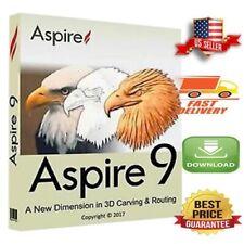 NEW🔥 Vectric Aspire 9.514 + Clip Art Bonus + Save /open Projects🔥Win 64 Bit🔥
