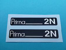 Hercules Prima 2N Trittbrett Aufkleber Dekor Schriftzug Verkleidung Sticker