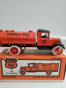 Phillips 66 1931 Hawkeye Tanker 1st In Series Bank