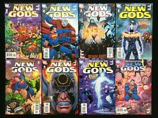 DEATH OF THE NEW GODS Lot of 8 DC Comic Books - Complete Set #1-8 - High Grade!