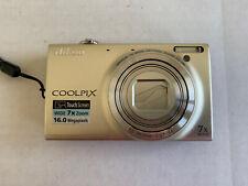 Nikon Coolpix S6100 16MP Digital Camera