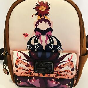 Loungefly Disney LION KING Limited Edition PRIDE ROCK Mini Backpack
