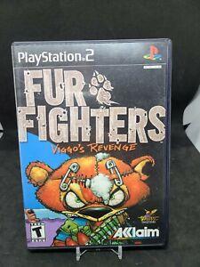 Fur Fighters: Viggo's Revenge (Sony PlayStation 2, 2001) PS2 - CIB