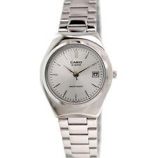 Casio Ladies Analogue Silver Dial Quartz Wrist Water Resist Watch, Stainless Ste