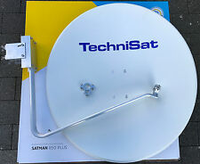 TechniSat SATMAN 850Plus,incl. AZ/EL-Halterung, incl.40mm Adapterschelle, weiß