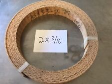 WOVEN BRAKE BAND SHOE MATERIAL 2X3/16 HIGH FRICTION NEW NON ASBESTOS FORD