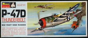 1967 Monogram Models 1/48 REPUBLIC P-47D THUNDERBOLT Fighter *NMIB*