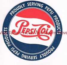 Proudly Serving Pepsi Products Pepsi Cola 4 inch coaster Tavern Trove