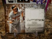 🔥TREY MANCINI TOPPS GAME WORN PATCH SERIES ONE BALTIMORE ORIOLES MLB🔥