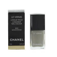 Chanel Nail Polish 522 Monochrome Grey/Green Nail Colour Varnish