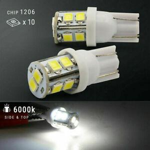 USA 20pcs LED Car Light Bulb Interior Map Dome Trunk License Plate Lamps Kit