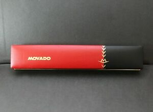 Vintage MOVADO Rectangular Box for 30mm Wristwatches. Ca. 1950's