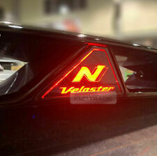 Auxiliary Rear Brake LED Light Mask Carbon Black for HYUNDAI 2019-2020 Veloster