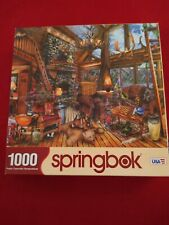 1000 Piece Jigsaw Puzzle Springbok The Hunting Lodge