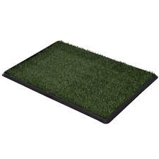 Hundetoilette Hundeklo Welpentoilette Haustierklo WC Trainingsunterlage +Grass