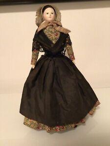 Antique French Papier Mache Doll ( Pauline), ca. 1840