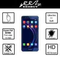 TPU Curved Screen Protector Soft Full Film Cover For Huawei Honor 8
