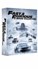 FAST AND FURIOUS 1-8 COMPLETE MOVIE COLLECTION DVD BOXSET NEW SEALED REGION 2 UK