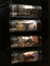 Four Star Wars The Force Awakens Drinking Glasses Lucas Films