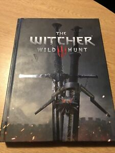 Witcher 3 Wild Hunt Collectors Edition Game Guide Hardback