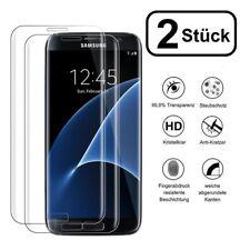 2x Panzerglas Samsung Galaxy S7 Curved 3D FullcoverPanzer Glas Folie 9H KLAR