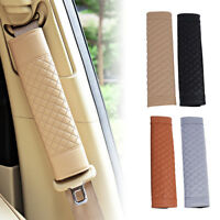 JT_ 2Pcs Auto Car Safety Seat Belt Shoulder Pads Cover Cushion Harness Pad New