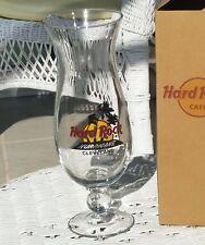 Hard Rock Cafe * CLEVELAND * Hurricane style Glass < NIB > * Never Used *