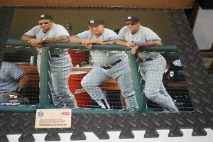 NY YANKEES Joe Torre, Don Zimmer, Mel Stottlemyre SIGNED 16X20 PHOTO STEINER COA