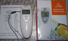 DIGITAL ALCOHOL BREATH TESTER - BREATHALYZER - ALCOHOL DETECTOR - LCD DISPLAY