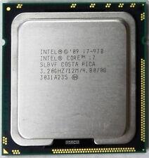 Free shipping Intel Core i7-970 Processor 12M Cache 3.20 GHz SLBVF LGA1366