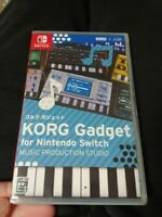 KORG Gadget for Nintendo Switch Factory Sealed RARE MINT SHIPS World Wide