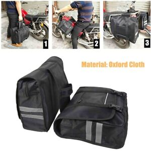 Saddle Bag for Motorcycle Panniers Bags Two Bags Waterproof Tool Luggage Bag