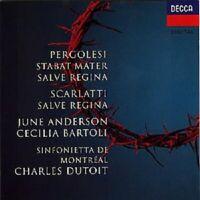 """JUNE ANDERSON/CECILIA BARTOLI """"STABAT MATER/SALVE.."""" CD"""