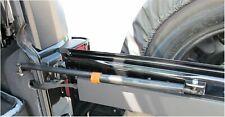 Rampage for 2007-2010 Jeep Wrangler(JK) Rear Door Heavy Duty Gas Strut - Bla