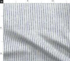 Texture Line Stripe Ticking French Fabric Printed by Spoonflower BTY