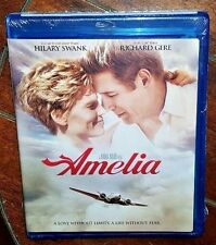 Amelia (Blu-ray Disc, 2010) Richard Gere/Hilary Swank!