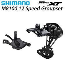 SHIMANO XT M8100 12-Speed Groupset SL + RD M8100 Rear Derailleur