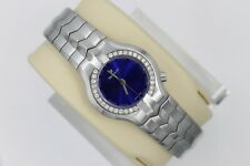 Tag Heuer Alter Ego Watch Women WP1316.BA0751 Mint Crystal Blue SS 30 Diamonds