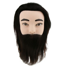 Cosmetology Mannequin Head Hair Styling Hairdresser Training 100% Human Hair