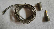 Original Sennheiser Kopfhörer Kabel mit Würfelstecker 3 mtr. mit 6,35mm Adapter