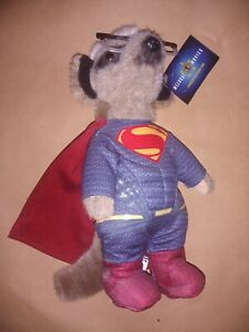 Compare the meerkat toy Sergei As Superman