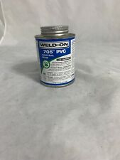 Weld-On 705 Pvc Industrial Grade 1 Quart - Clear