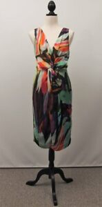 George Evening Colourful Dress - Size 12