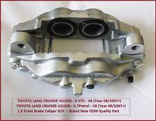 TOYOTA LAND CRUISER (vdj200-4.5td/uzj200-4.7p) V8 freno Delantero Calibrador R/H