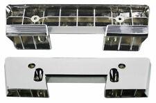 FRONT Armrest Bases Chrome 1967 CAMARO door panel bases chrome pair