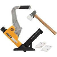 Bostitch hardwood flooring nailer/ stapler BTFP12569 nail staple gun w/ mallet