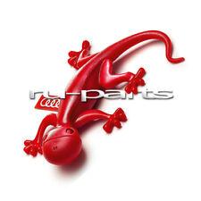 Audi original air freshener gecko (red, floral) 000087009B