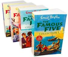 Famous Five 4 Books 12 Story Collection Children Set Paperback By Enid Blyton