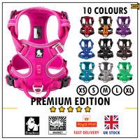 Dog Harness Truelove No-Pull Strong Adjustable Fuchsia Black Blue XS S M L XL