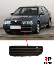 FOR SKODA OCTAVIA (1U) 2001 - 2004 NEW FRONT BUMPER FOGLIGHT GRILL BLACK LEFT